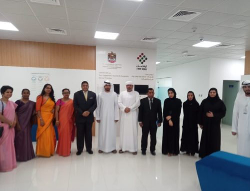 Embassy and Consulate officials visited TAD-BEER, TAWJEEH and TWA-FOUQ centres in Abu Dhabi