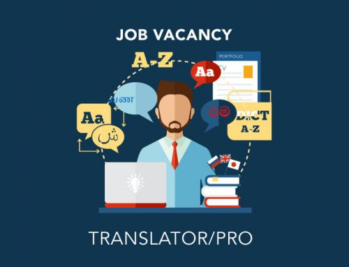 Vacancy for a Translator/PRO