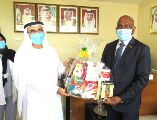 Sri Lanka pays tribute to health front liners in Ras Al Khaimah in UAE
