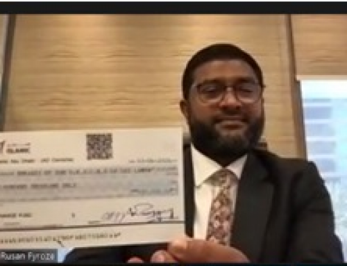 Generous Support extended towards the country by a Sri Lankan Muslim Brother in UAE